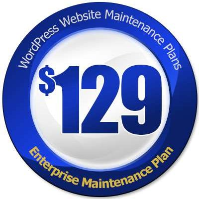 Enterprise maintenance plan price tag