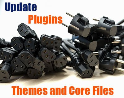 Photo of male and female electrical plugs