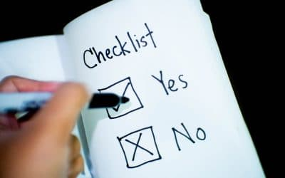 A yes or no WordPress Website Security Checklist sheet